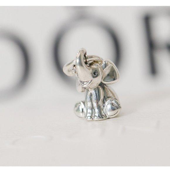 ❤️PANDORA Elephant Dangle Charm